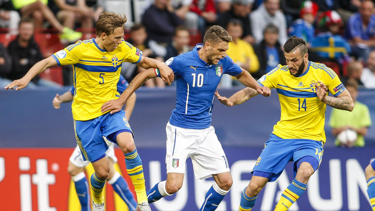 World Cup Qualification: Sweden Vs. Italy