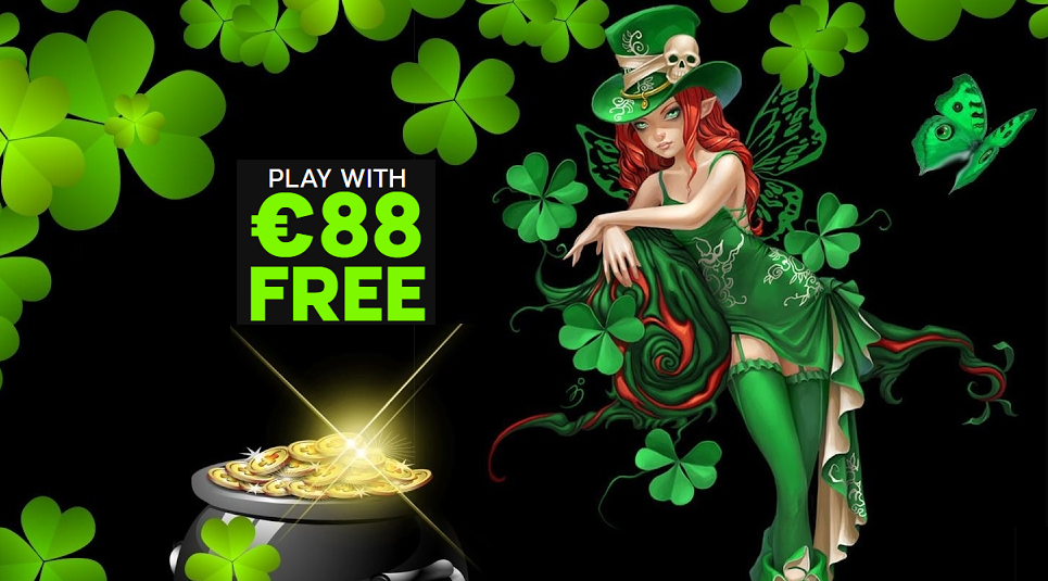 Get 88€ for free and celebrate St. Patrick's Day